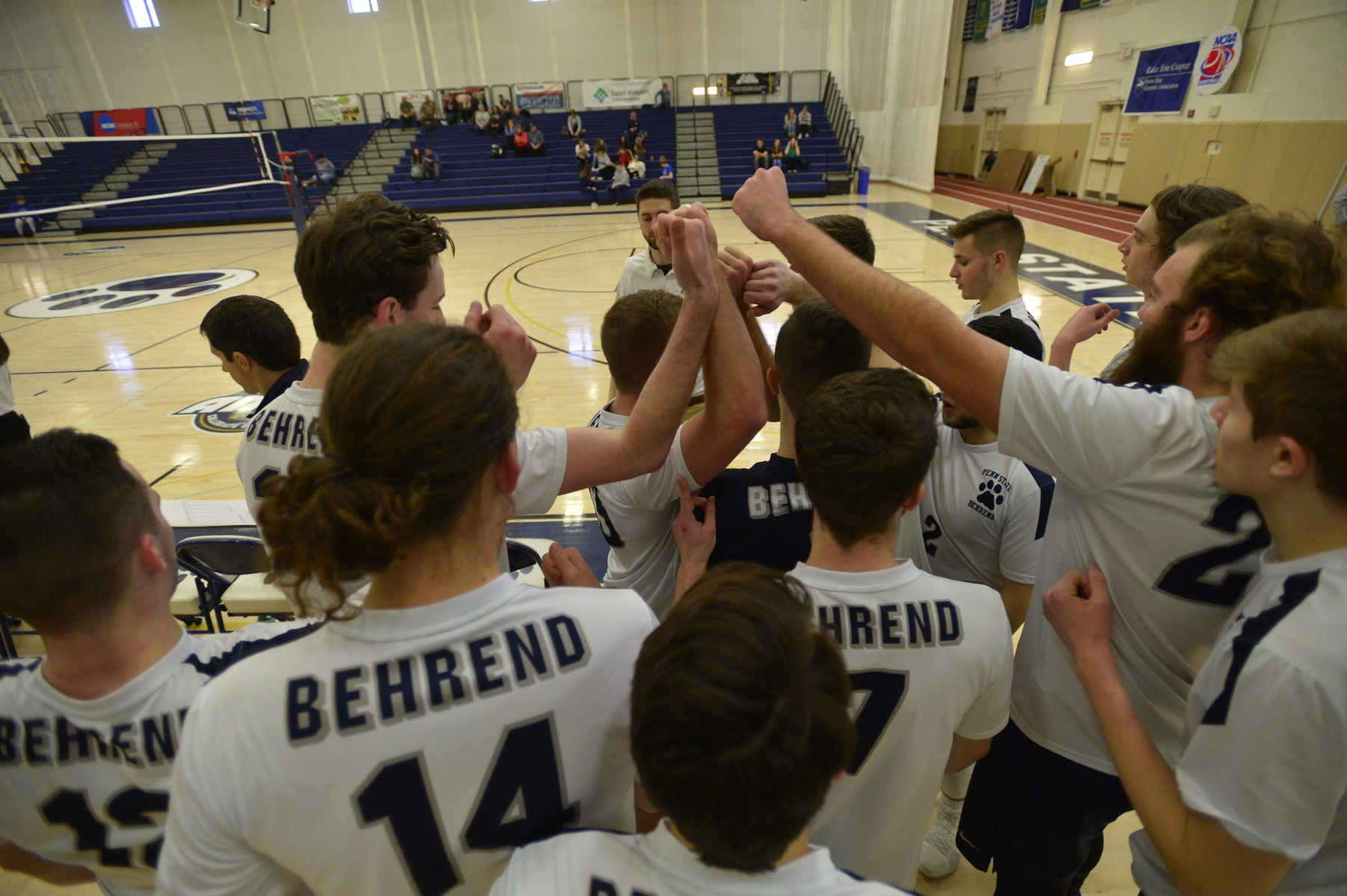 Men's Volleyball Opens Season Against Mt. Union