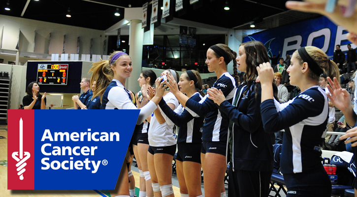 "GC Volleyball Hosts ""White-Out to Wipe Out Cancer"" Saturday"