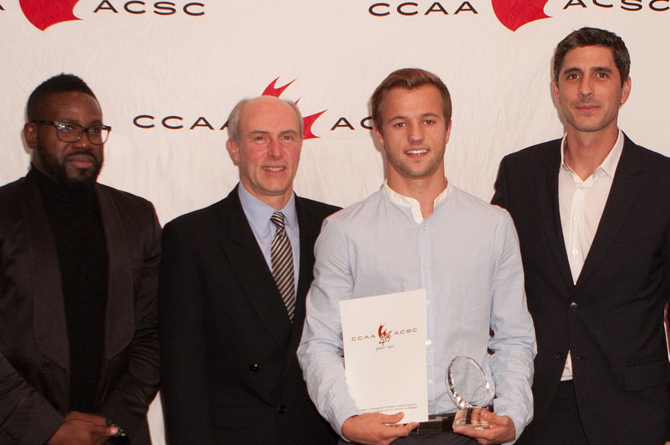 Pasquotti named CCAA Men's Soccer Player of the Year