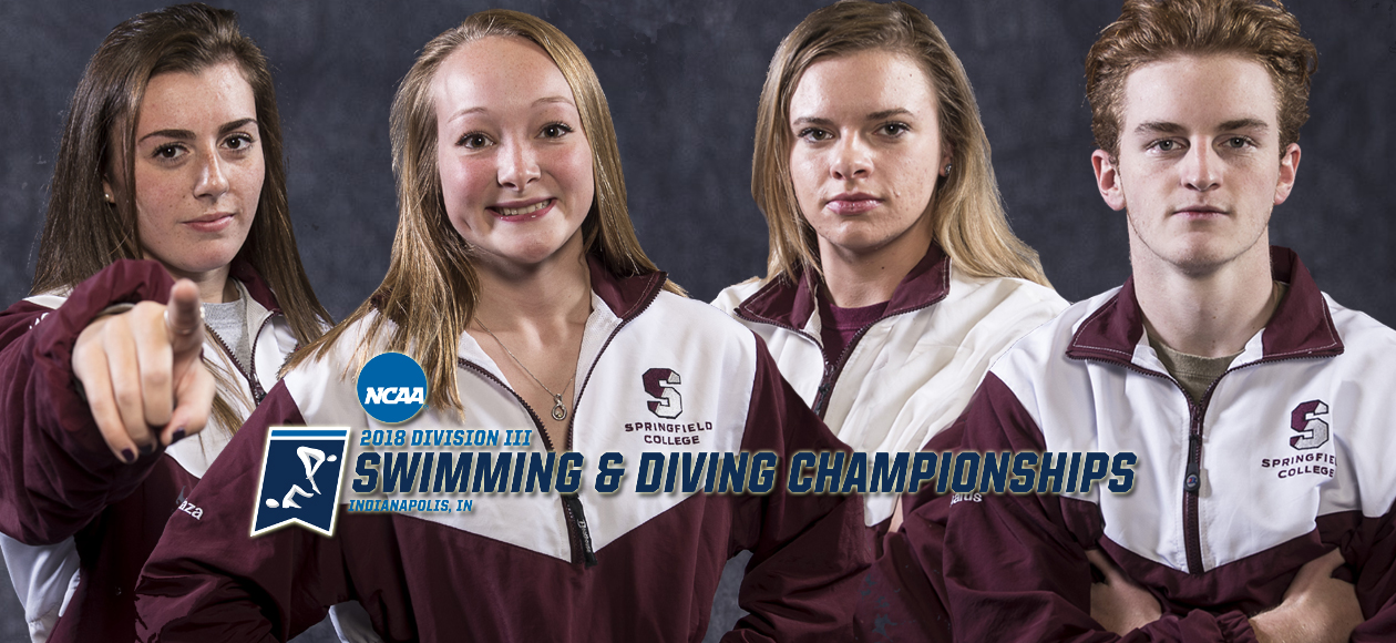 Springfield College To Send Four Student-Athletes to NCAA Division III Swimming and Diving Championships