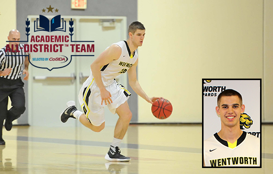 Academic All-District Honors Bestowed on Romich