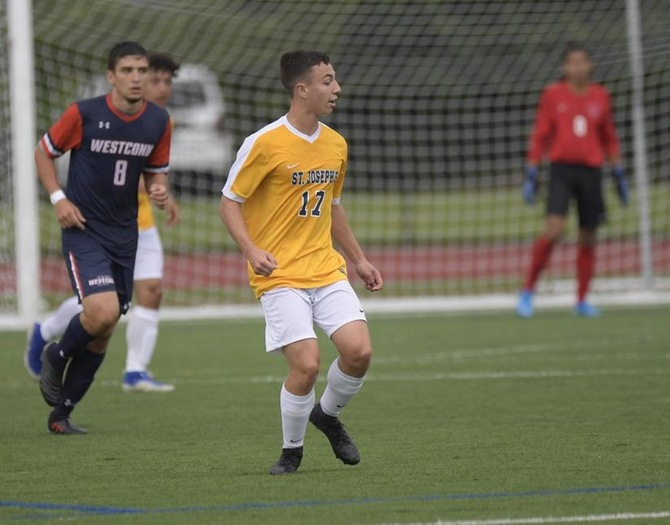 Men's Soccer Falls to Stockton on the Road