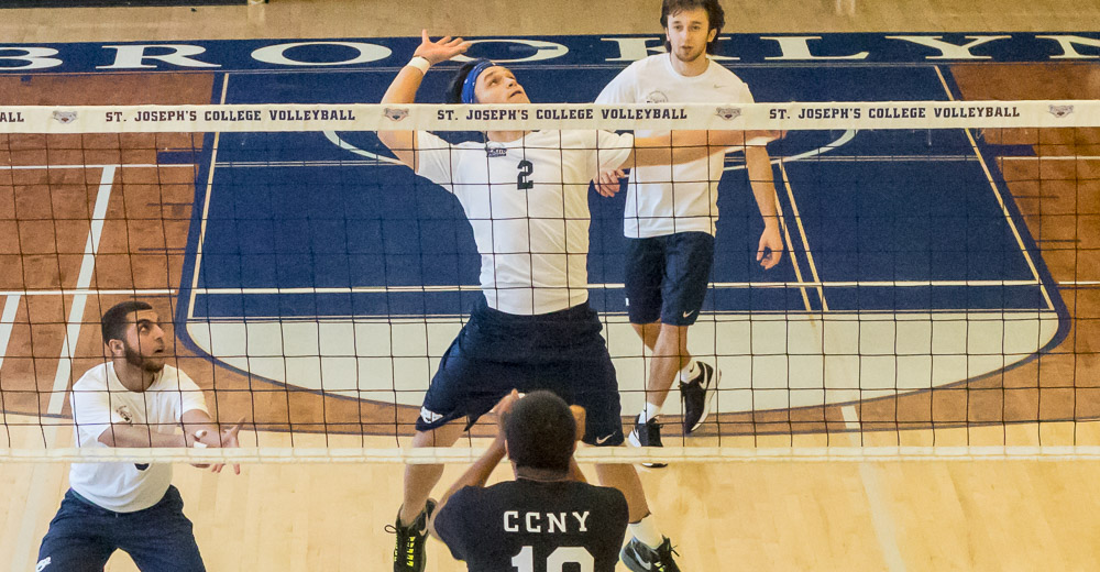 Men's Volleyball Faces CCNY and Mount Ida on Day 2 of Clinton Hill Classic
