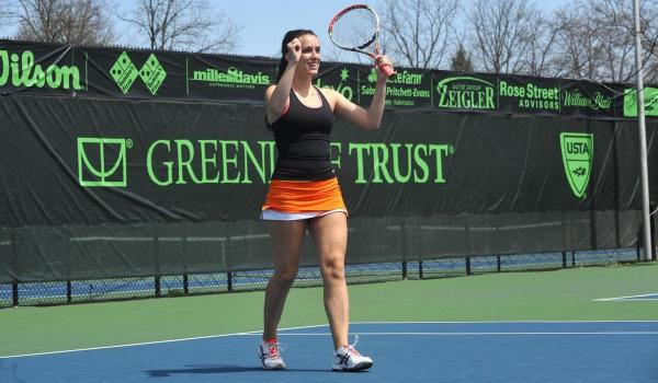 Women's Tennis advances to MIAA Tournament Championship