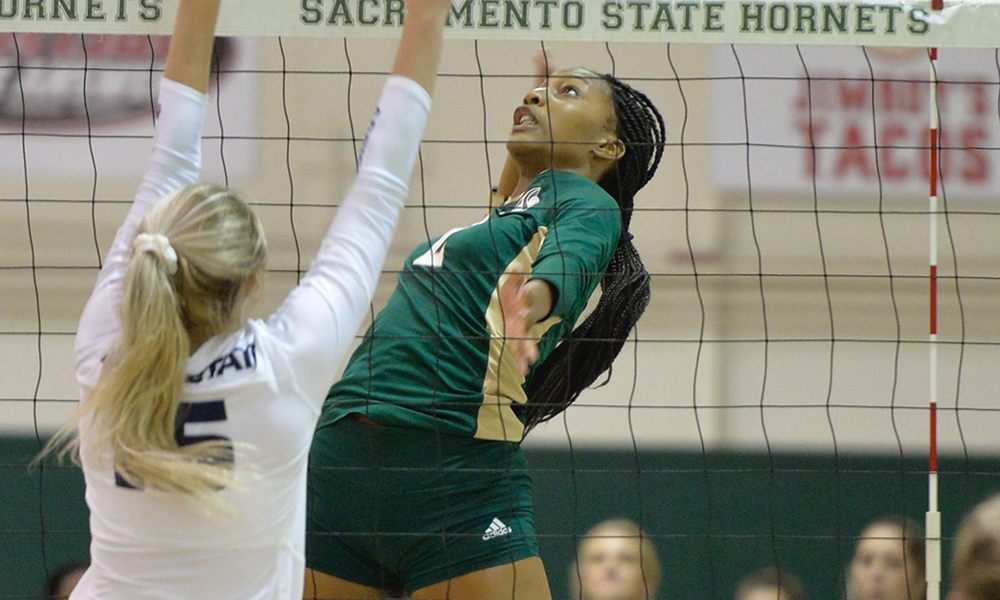 INJURY RAVAGED VOLLEYBALL PLAYS TOUGH, BUT FALLS TO PORTLAND