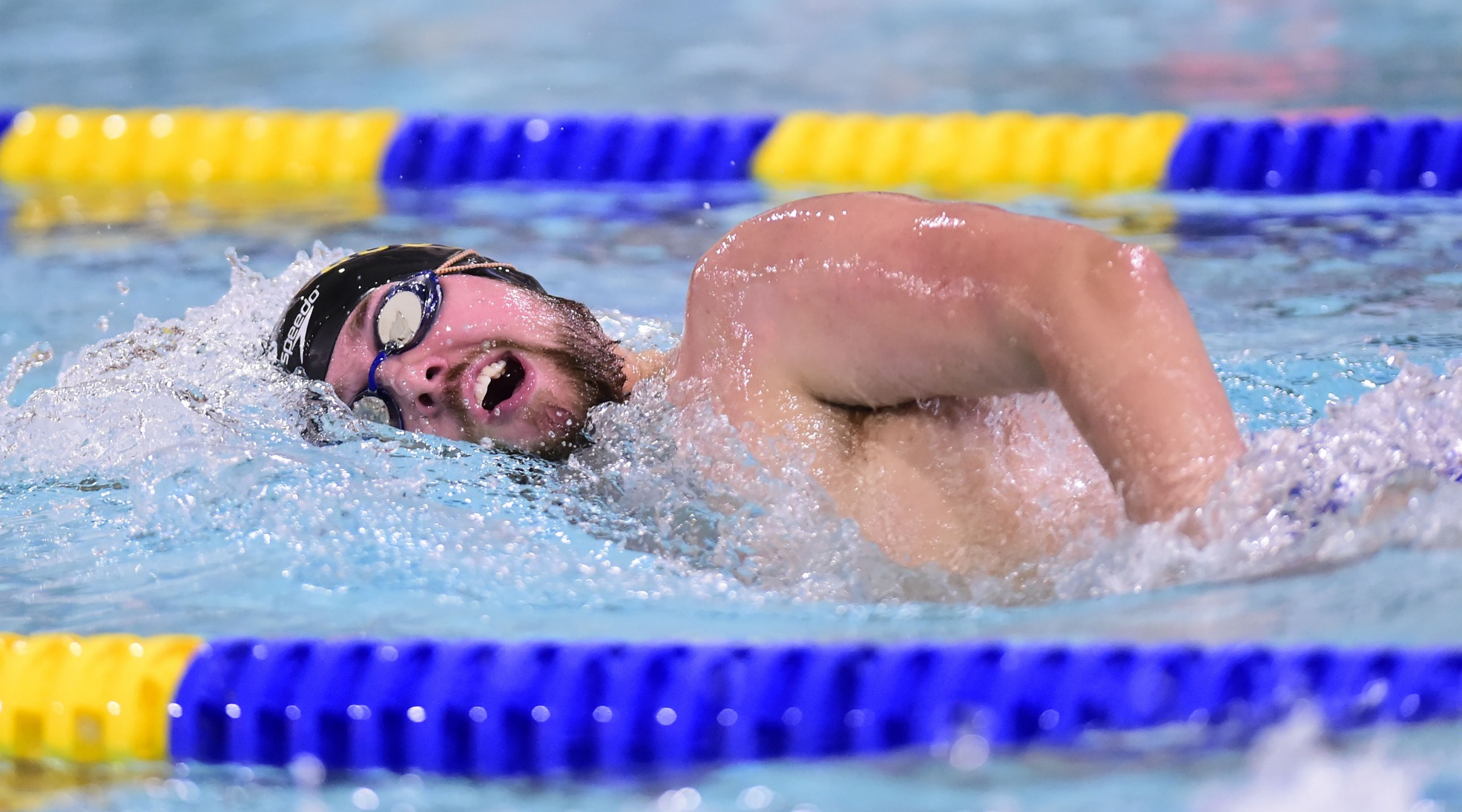Men's Swimming Places Seventh at 2018 Landmark Conference Championships