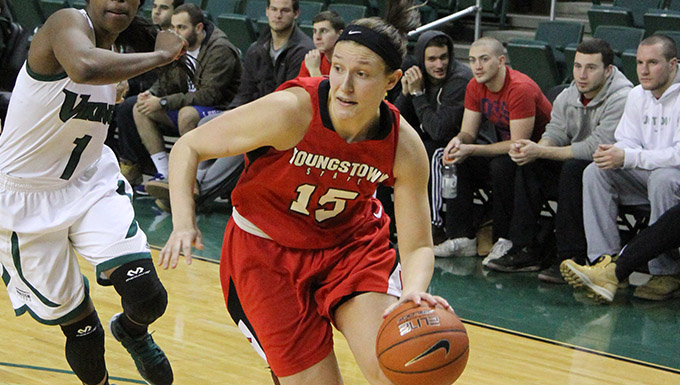Heidi Schlegel Named to Horizon League All-Tournament Team