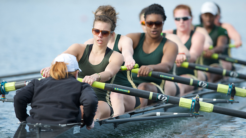 ROWING'S VARSITY EIGHT FINISHES FOURTH IN SAN DIEGO CREW CLASSIC PETITE FINAL