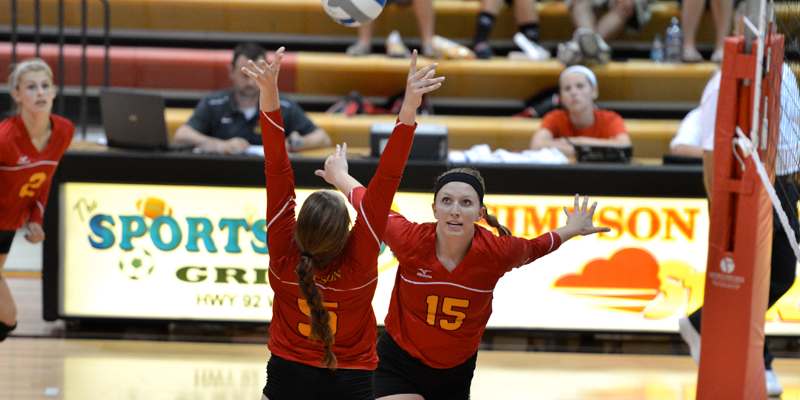 Volleyball closes play at Augustana, looks ahead to Dubuque