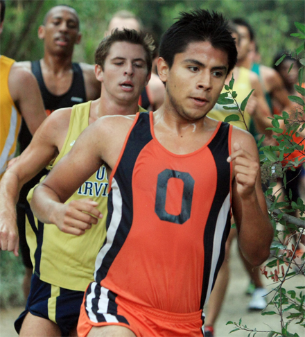 Harriers hang tough at UC Irvine Invitational