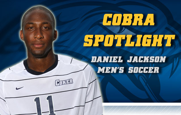 Cobra Spotlight- Daniel Jackson, Men's Soccer