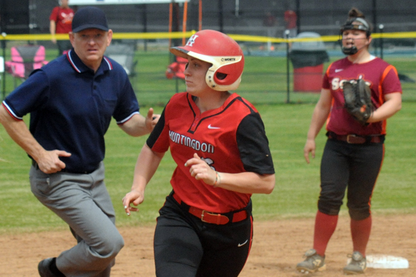 Huntingdon softball splits with Averett in conference doubleheader