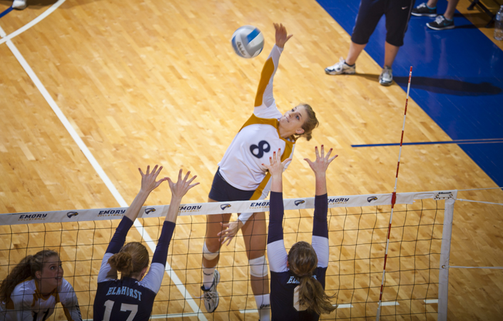 Emory's Leah Jacobs Earns Berth On Capital One Academic All-District Volleyball Team