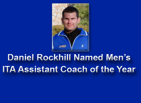 Concordia Assistant Coach Daniel Rockhill Named Men's ITA Assistant Coach of the Year