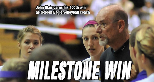 Golden Eagles net Blair's 100th career coaching win at Tech
