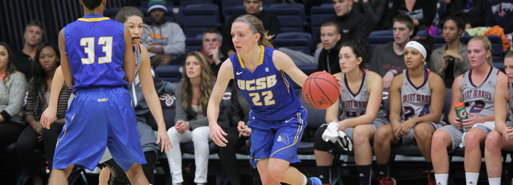 Zornig's Double Double Not Enough at CSUN, UCSB Falls 78-54