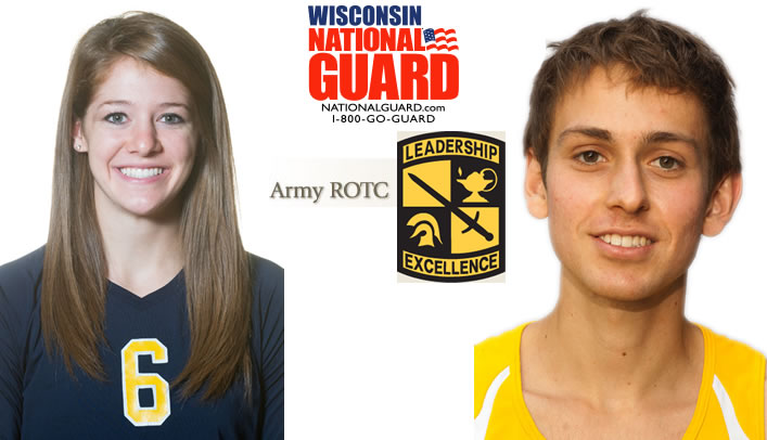 Mugan and Schuh Receive Athlete of the Month Honors
