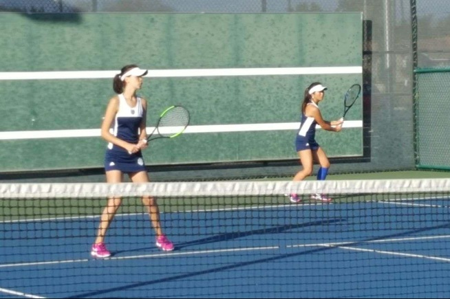 Top doubles team earns win over Irvine Valley