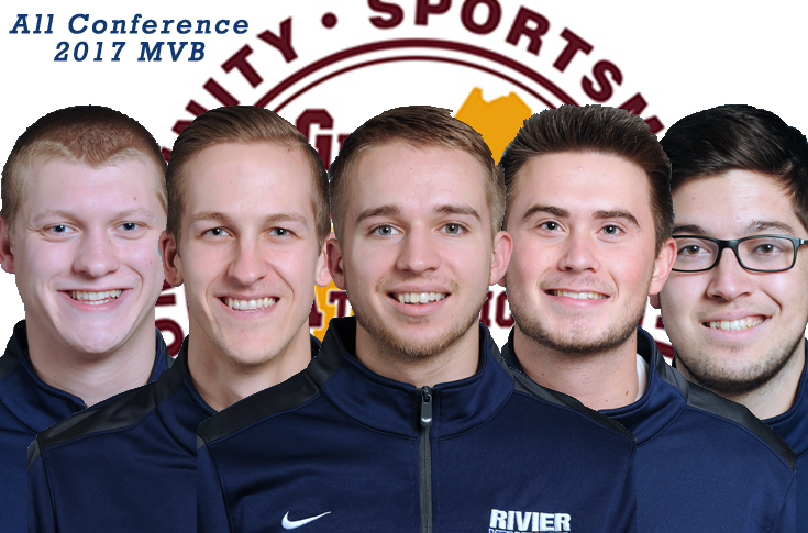 Men's Volleyball: Five Raiders tabbed All-Conference; Bucklin DPOTY
