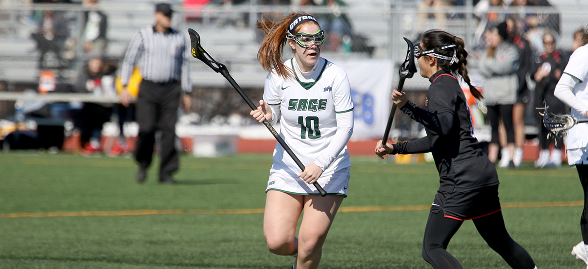 Risler, Gage lead Sage women's lacrosse to 12-10 win at MCLA