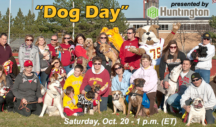"Bulldogs Host Michigan Tech For ""Dog Day"" At Top Taggart Field"