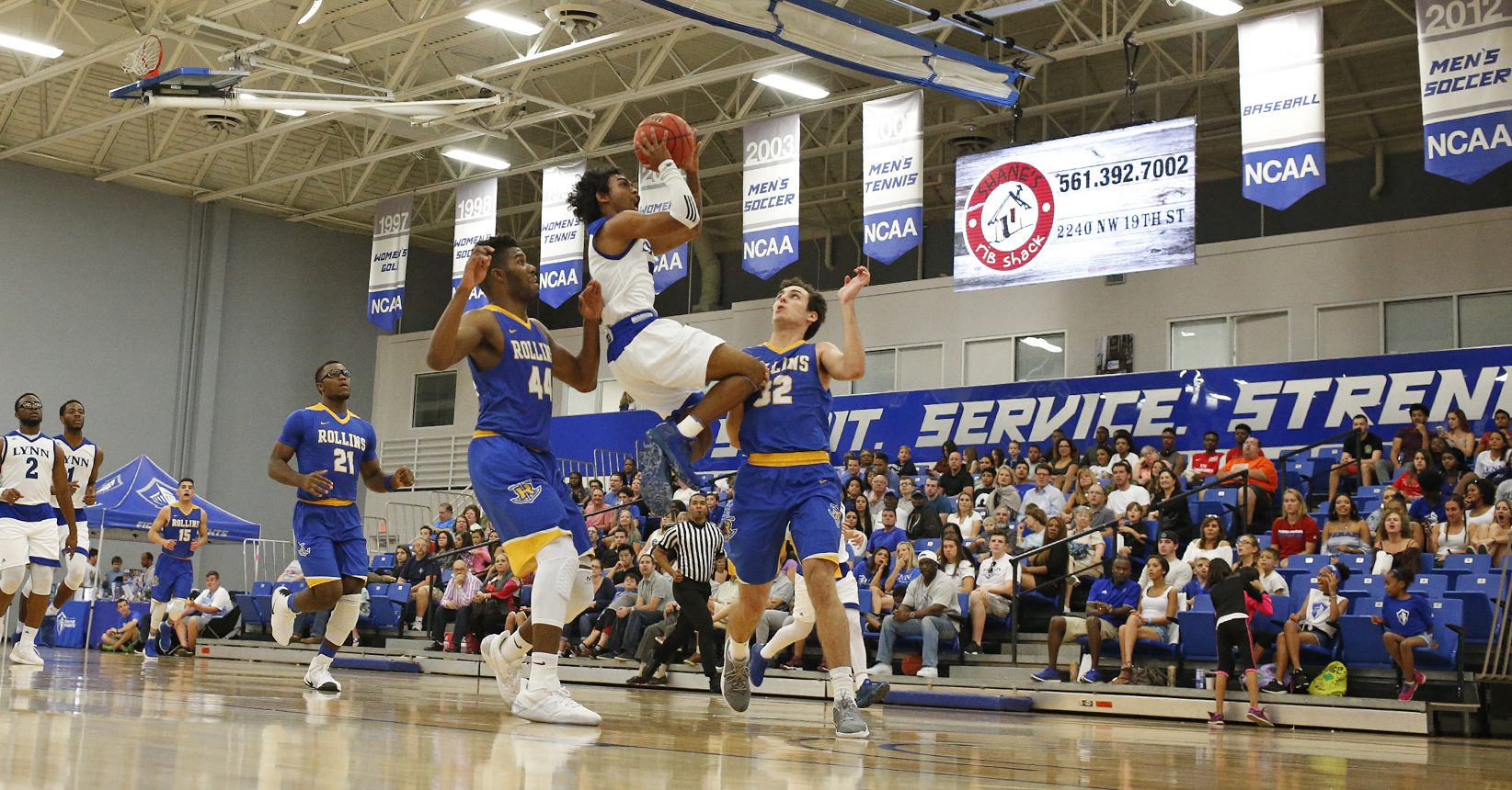 Men's Basketball Tripped up by Rollins, 92-80