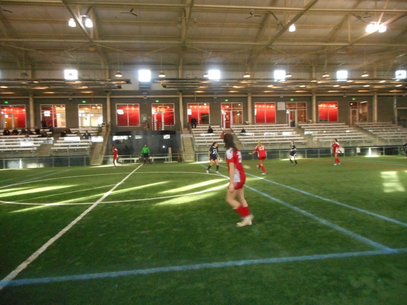 Indoor soccer season getting into full swing