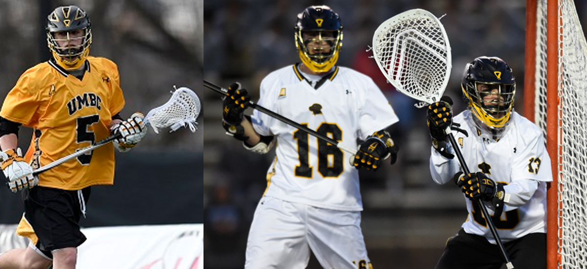 Maxwell, Souder, Brewster Tabbed as Captains of 2017 UMBC Men's Lacrosse