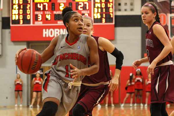 Bench Helps Lift Women's Basketball Over Meredith, 89-57