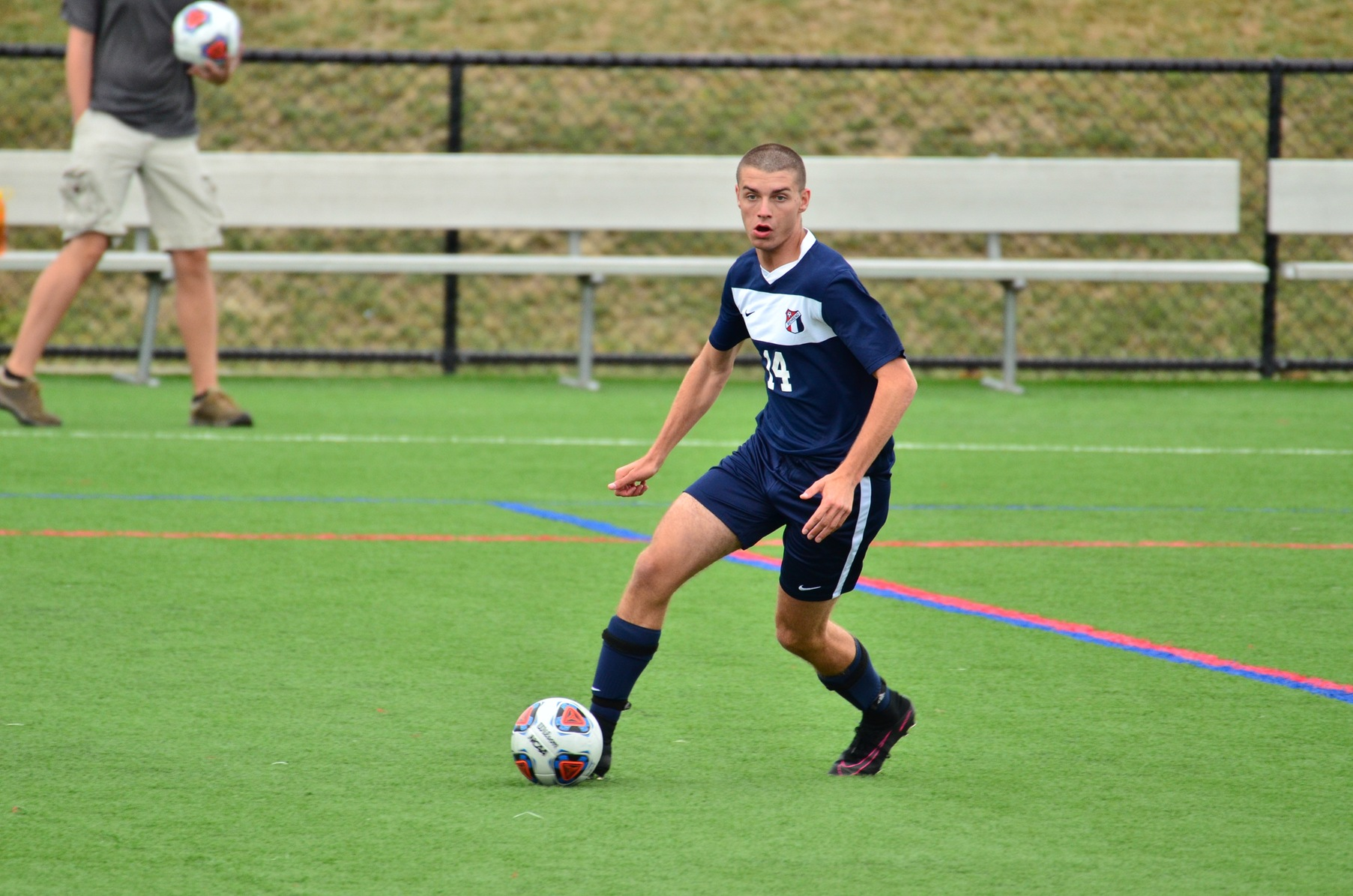 Men's Soccer Falls in Final Seconds of Regulation
