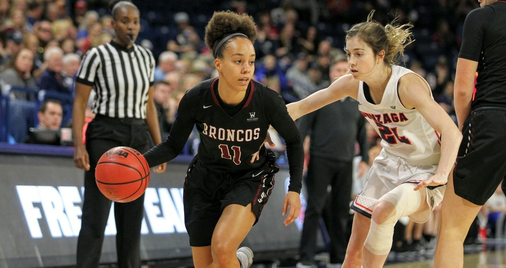 No. 18 Gonzaga Pulls Away From Women's Basketball in Second Half