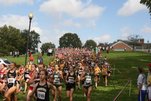 XC Races Out of the Gate at Season-Opening Tifin/'Berg Invite