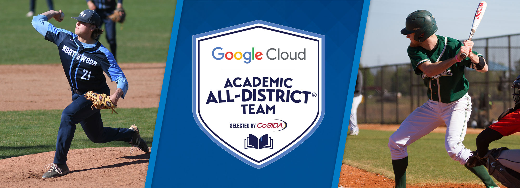 Northwood's Dimitrie, Tiffin's Callihan Named Google Cloud Academic All-District Baseball Honorees