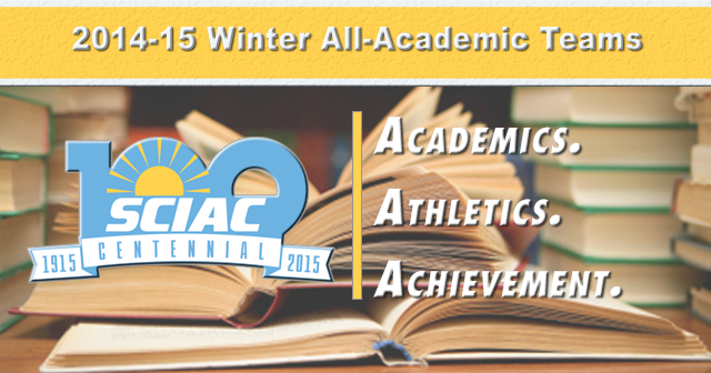 Another 14 Named Academic All-SCIAC for Winter Season