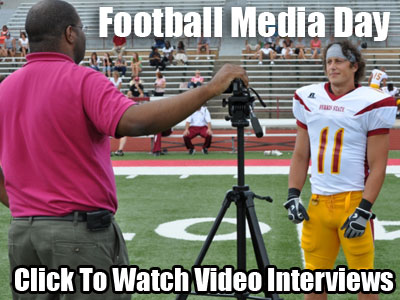 Football Media Day - Video Interviews