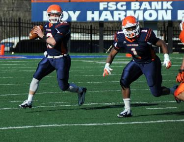 Eagles wrap up spring practice with annual Orange v. Blue game Tuesday