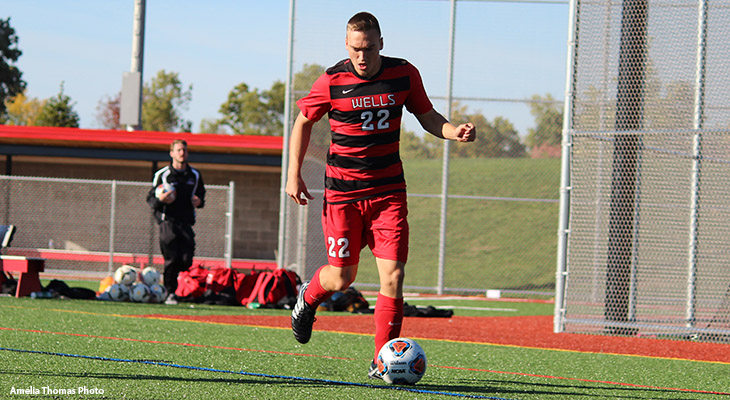 Men's Soccer Advances In NEAC Playoffs; Wins 2-0 At Berks