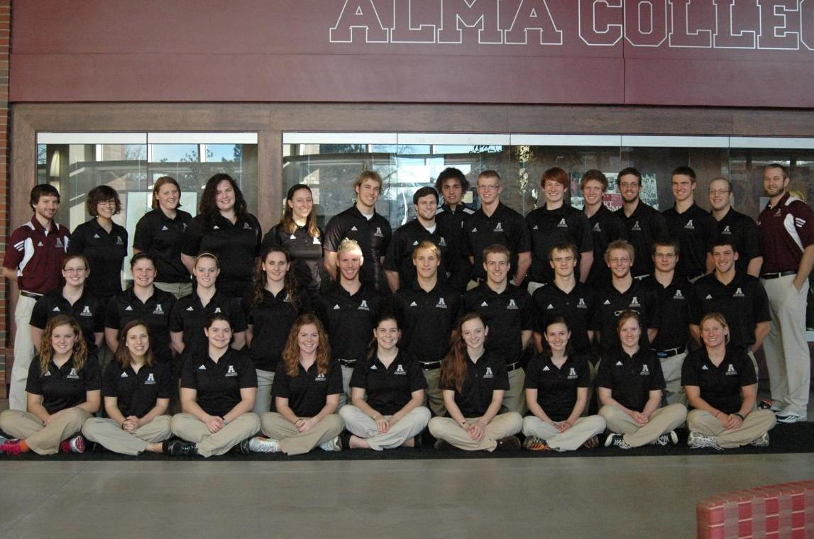 Scots Women's Swimming Team achieves Scholar All American status for Spring 2012 semester