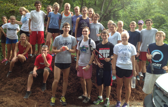 Emory Cross Country Goes The Distance For The Community