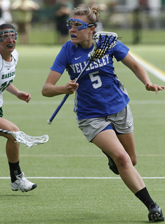 Blue Lacrosse Downs Smith to Advance to NEWMAC Semis