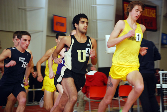 Men's Track third at Collegeville Classic