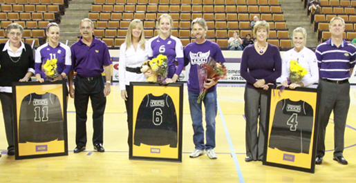 Golden Eagles fight until the end, fall short on Senior Day