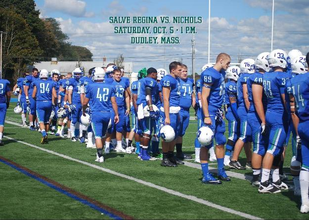 Salve Regina carries its 2-1 record into Dudley, Mass. on Saturday to face the Bison for their Homecoming game.
