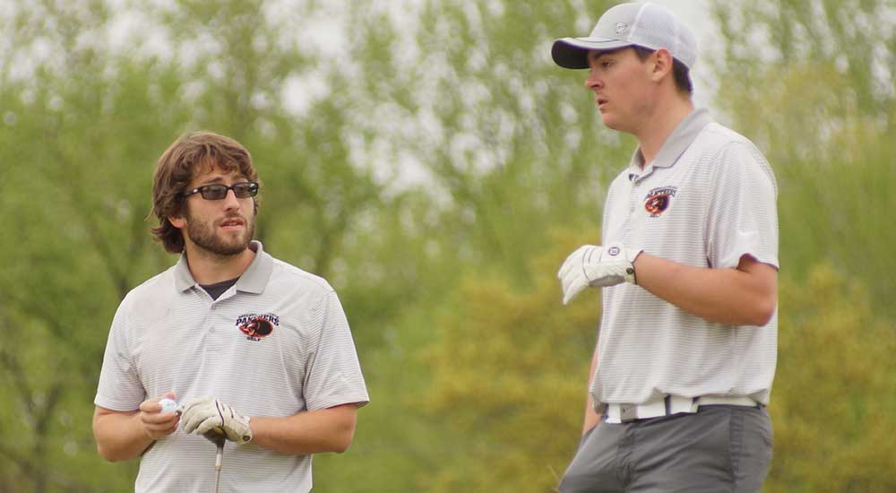 Men's golf wraps up season at The Rail