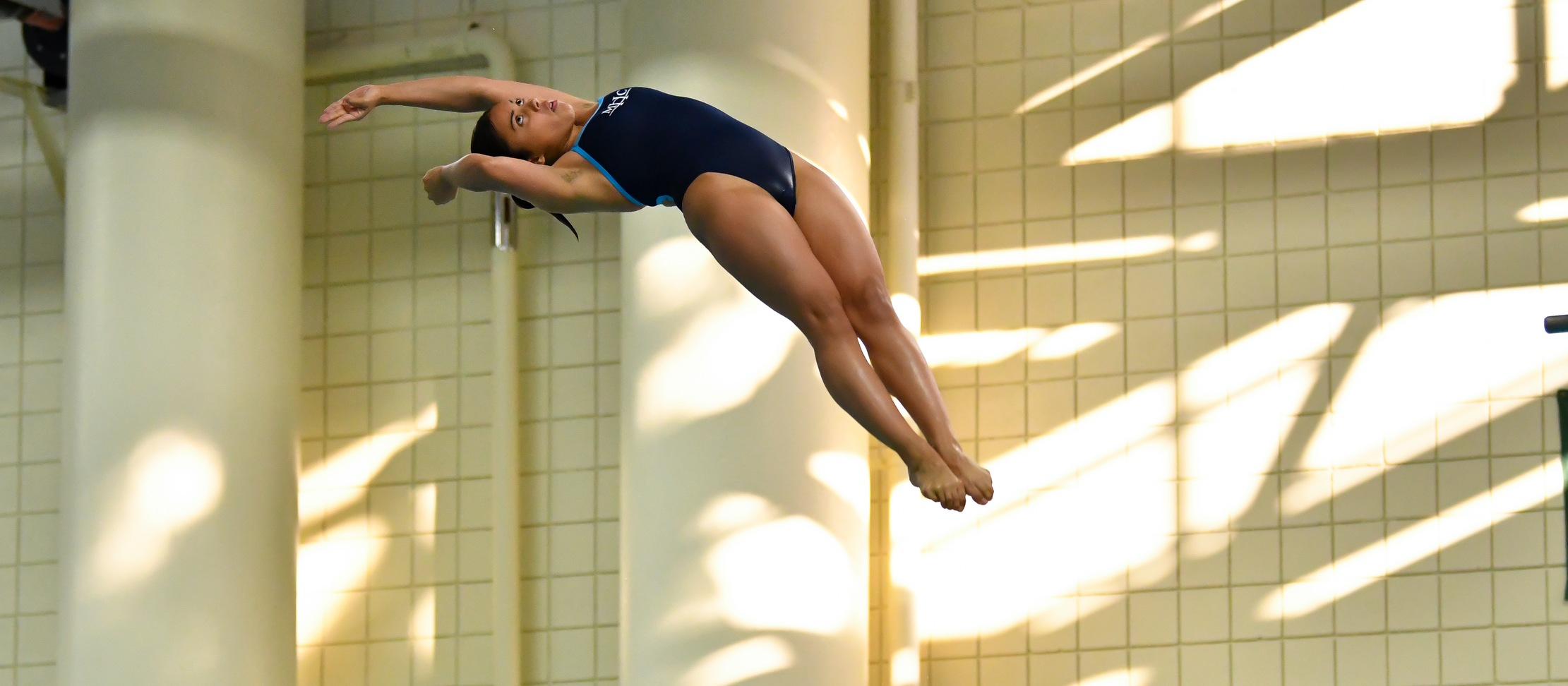 Divers Win Both Boards in Swimming and Diving Tri-Meet With Trinity and Vassar