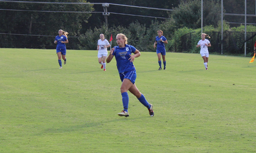 Fonger scored her second goal of the season
