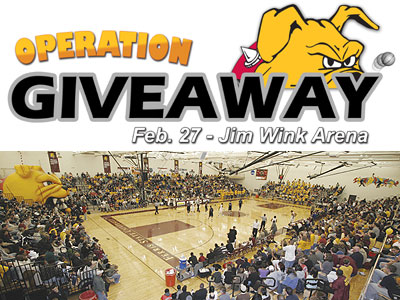 "Don't Miss ""Operation Giveaway"" On Feb. 27"