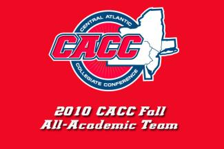 Ten USciences Student-Athletes Named To the CACC Fall Academic Team
