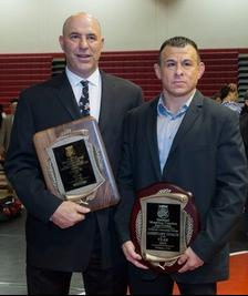 (L-R) Fresno City's Paul Keysaw (Coach of the Year) and George Moreno (Asst. Coach of the Year) earned the awards for the third year in a row