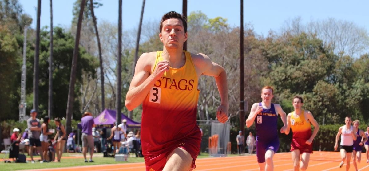 Wilson Ives won the 1500 as the Stags swept four opponents in their final regular season Multi-Dual